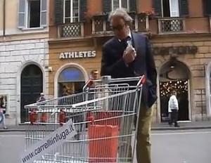 Carrelli in Fuga 300x232 Carrelli in Fuga a Roma per il Nuovo Carrefour