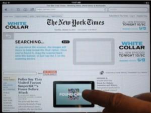 NYT iPad 300x226 Pubblicità Interattiva in HTML 5 per iDevice, lEsempio del New York Times
