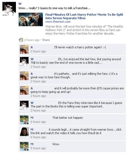 Creduloni su Facebook