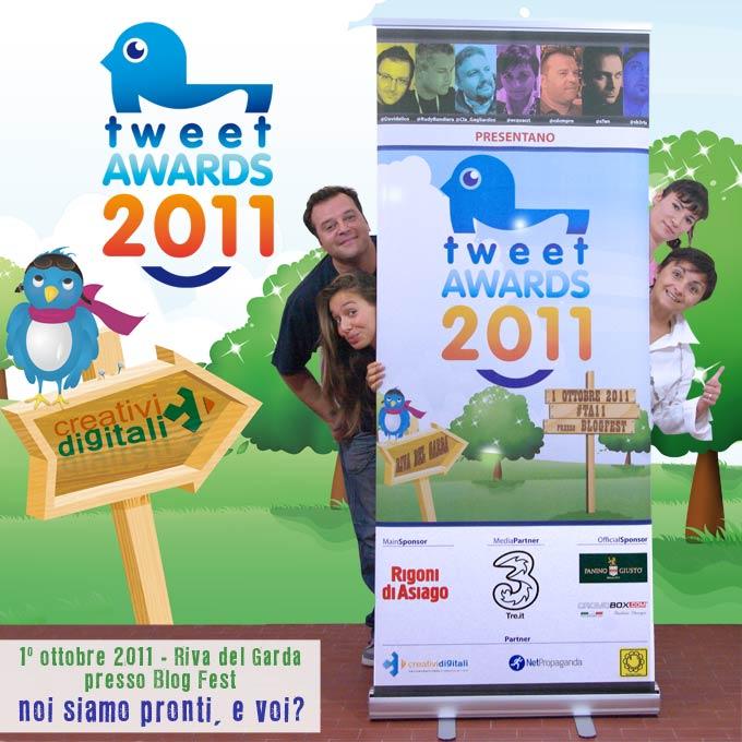 Tweet Awards 2011 e Creativi Digitali
