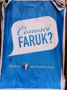 Conosci Faruk, campagna virale del Pd