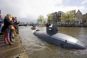 Sottomarino ad Amsterdam