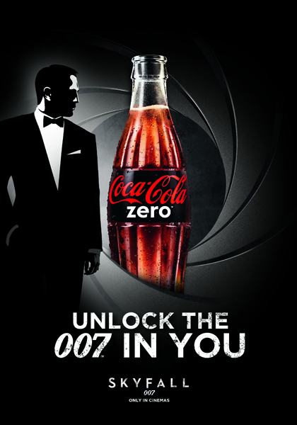 """Poster """"Unlock the 007 in you"""""""