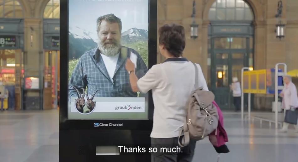 Stampa del biglietto del treno per raggiungere Vrin: Unconventional Marketing