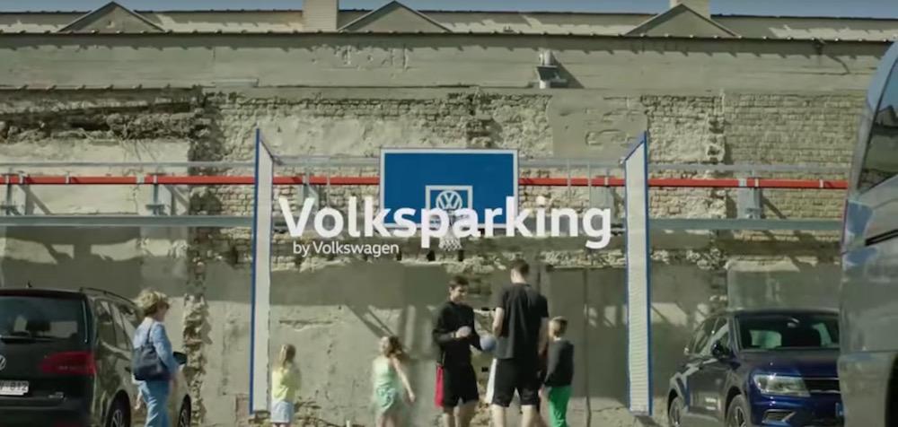 Volksparking: canestro intelligente
