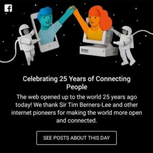 Doodle Facebook per la celebrazione dell'Internaut Day