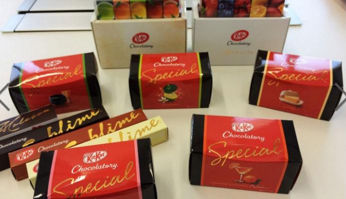 """Cioccolato: immagini dei corner shop """"Chocolatory"""""""